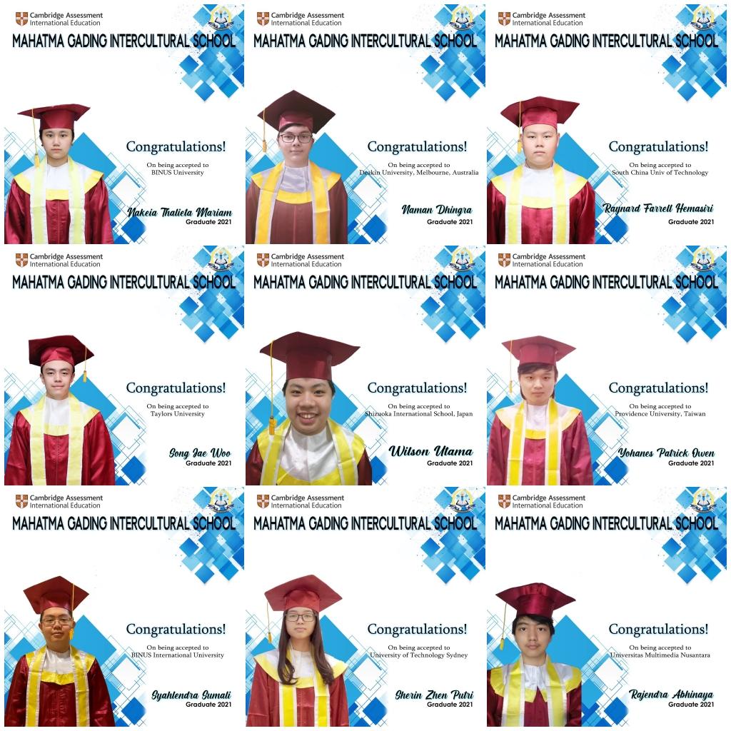 Secondary Section - Alumni